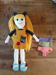 Annoo's Crochet World: Abigail,'s Draw me a Doll Free Tutorial