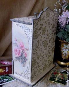 """Кухня ручной работы. Ярмарка Мастеров - ручная работа Чайный буфетик """"Чайные розы"""". Handmade."""