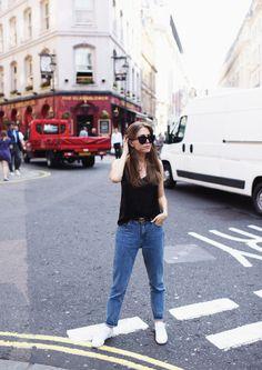 spaghetti top & mom jeans | Jestem Kasia | Bloglovin'