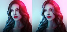Add Colorful Highlights to Hair in Adobe Photoshop