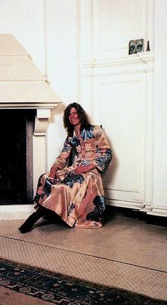 April 20th, 1971. David Bowie at home, Haddon Hall, Beckenham, Kent.