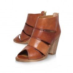 Kurt Geiger | KIWI Tan High Heel Ankle Boots by Carvela Kurt Geiger
