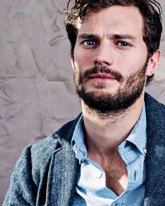 """Jamie on the cover of Notebook Magazine (February 2015) "" http://50shades.tumblr.com/jamie-dornan"