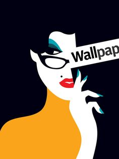 Wallpaper christmas illustration Malika is a French illustrator/Art director based in London. She grew up in Paris where she studied graphic design before Graphic Design Illustration, Graphic Art, Illustration Art, Kunst Poster, Poster S, Malika Fabre, Pop Art, Deco Studio, Arte Popular