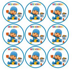 Pocoyo Baby Boy First Birthday, 3rd Birthday Parties, 2nd Birthday, Ideas Para Fiestas, Baby Party, Childrens Party, Holidays And Events, Baby Boy Shower, Gabriel
