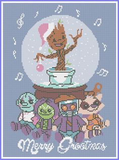BOGO FREE Christmas GROOT StarLord Gamora Marvel Comics