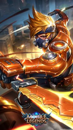 Hayabusa Model Renovation - Shadow of Iga - News - Mobile Legends: Bang Bang - Powered by Discuz! Hp Mobile, Best Mobile, Iphone Mobile, Wallpaper Hd Mobile, Wallpaper Keren, Wallpaper Wallpapers, Mobiles, Moba Legends, Alucard Mobile Legends