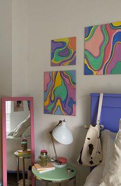 Room Design Bedroom, Room Ideas Bedroom, Bedroom Decor, Uni Room, College Room, Pastel Room, Cute Room Decor, Aesthetic Room Decor, Cool Rooms
