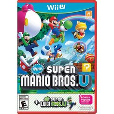 New Super Mario Bros. U   New Super Luigi U (Wii U)