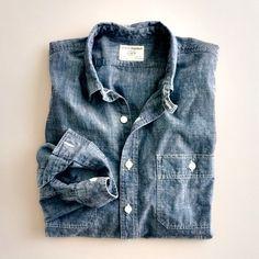 Denim Shirt goodness.    #denim #shirts