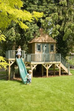 My Favourite Playhouse perfect to keep the kids outdoors #kidsoutdoorplayhouse #playhouseideas #diyplayhouse