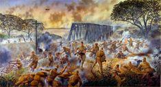 The Battle of Sittang Bridge, Burma