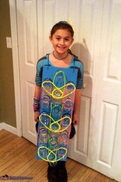Rainbow Loom Homemade Costume - 2013 Halloween Costume Contest