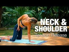 Neck & Shoulder Tension Release Yoga Class - Five Parks Yoga - YouTube
