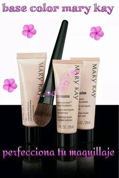 Base para maquillaje y Maquillaje www.marykay.com.mx/jakytorres