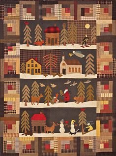 Silent Night by Timeless Traditions, 2015 BOM at Common Threads Quilting