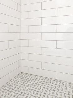 Useful Walk-in Shower Design Ideas For Smaller Bathrooms – Home Dcorz Beach House Bathroom, Small Bathroom, Bathroom Ideas, Master Bathroom, Master Shower Tile, Bathroom Hacks, White Bathrooms, Downstairs Bathroom, Bathroom Inspo