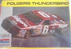 MONOGRAM 2928  1/24 #6 # 6  MARK MARTIN FOLGERS Ford Thunderbird NASCAR 1:24  #MONOGRAM