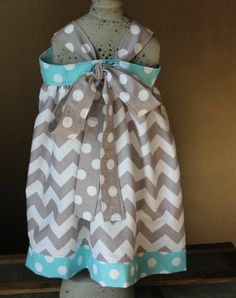 knot dress, tie back
