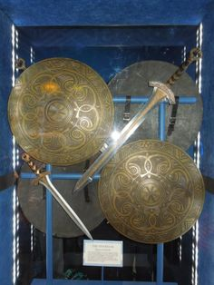 Thor: The Dark World The Einherjar sword and shield props