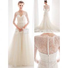wunderschönes Brautkleid mit Spitze und Tüll für 210 Euro!!!