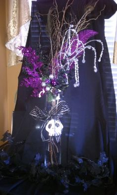 Girl's Nightmare Before Christmas Decorations – Party Planning! « Recession Home