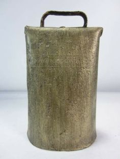Large Old Cowbell, for Auction @ Goodwill