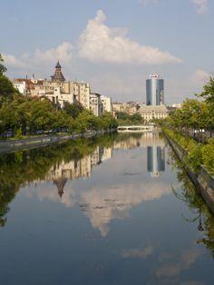 Dambovita River, Bucharest, Romania www.romaniasfriends.com