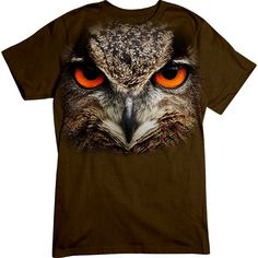 [Basic Tee] - Oversized Owl - Artopia | Our crew neck tee is made with 4.5 oz. 100% super soft combed ring-spun cotton and is preshrunk.