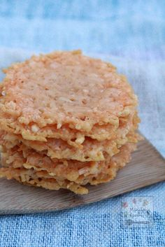 With only 1 ingredient and just a few minutes to make these Parmesan Crisps are the perfect low-carb snacks or crunchy topping for soups and salads! Gluten-free!