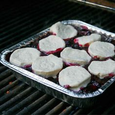 Blueberry Cobbler | 27 Delicious Recipes To Try On Your Next Camping Trip--check out the campfire eclairs, yum
