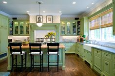 Green #Kitchen Green