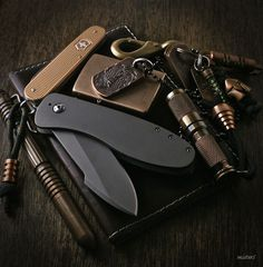 Some amazing pieces in this edc Edc Tools, Survival Tools, Survival Mode, Everyday Carry Items, Edc Gadgets, Edc Tactical, Edc Knife, Cool Gear, My Pocket