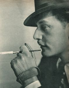 etund:  Adolf Wohlbrück, a gay, half-Jewish German actor, was known as Anton Walbrook after 1937. Read more about him here.