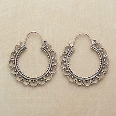 Pantaloon Hoop Earrings in Fall Jewelry 2012 from Sundance