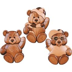 42 Bears One - Intarsia - Judy