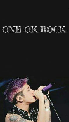 Takahiro Moriuchi, Band Wallpapers, One Ok Rock, My World, Rock Bands, Singing, Idol, Japanese, Songs