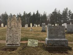 Graves of Montgomery's mother and grandparents