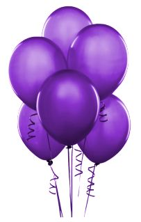 balloon purple