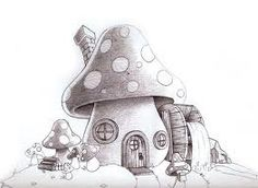 mushroom house - Google Search