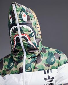 Another chance to cop the Bape x adidas NMD The Bape adidas NMD colorways will be releasing online again. Adidas Originals, The Originals, Adidas Nmd, Adidas Shoes, Bape Shark, A Bathing Ape, Mode Style, Streetwear Fashion, Jackets