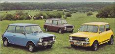 Mini Clubman, Classic Mini, Retro, Car, Wheels, Automobile, Cars, Autos, Mid Century