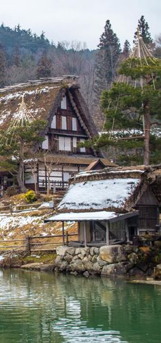 Shirakawago, traditional village in Takayama, Japan Takayama Japan, Shirakawa Go, Japon Tokyo, Perfect World, Japanese Culture, Japan Travel, Alps, Jumpers, Hogwarts