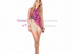 Short en dentelle , foulard # 42 Pièce unique