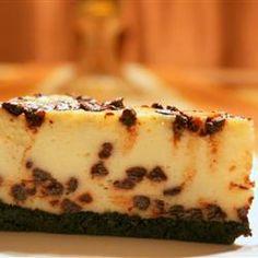 Chocolate Chip Cheesecake I Allrecipes.com