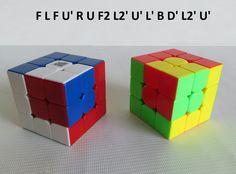 Patron Cubo Rubik 3x3 Figura N.5 por WL Rubik 3x3