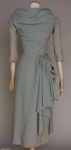 Augusta Auctions - Jean Desses cocktail dress -  Late 1940s
