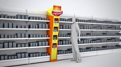Reckitt Benckiser - Meu Reino Protegido e Premiado on Behance Pos Display, Display Design, Display Shelves, Store Design, Design Shop, Merchandising Displays, Store Displays, Stop Rayon, Supermarket Design