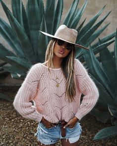 "JULIE SARIÑANA (@sincerelyjules) on Instagram: ""Blush baby blush.  • sweater @sezane"""
