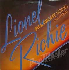 Lionel Richie All Night Long TMG 1319 1000's Viny Records on www.popmaster.pl